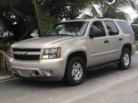 2007 Chevrolet Tahoe for sale at L G AUTO SALES in Boynton Beach FL