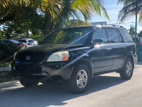 2005 Honda Pilot for sale at L G AUTO SALES in Boynton Beach FL