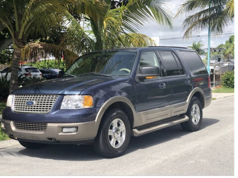2004 Ford Expedition for sale at L G AUTO SALES in Boynton Beach FL