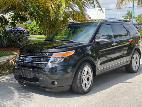 2011 Ford Explorer for sale at L G AUTO SALES in Boynton Beach FL