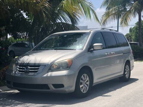 2009 Honda Odyssey for sale at L G AUTO SALES in Boynton Beach FL