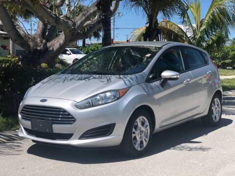 2015 Ford Fiesta for sale at L G AUTO SALES in Boynton Beach FL