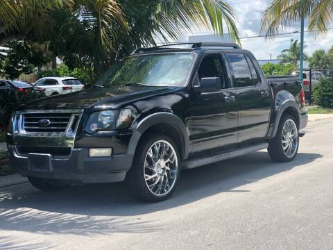 2010 Ford Explorer Sport Trac for sale at L G AUTO SALES in Boynton Beach FL