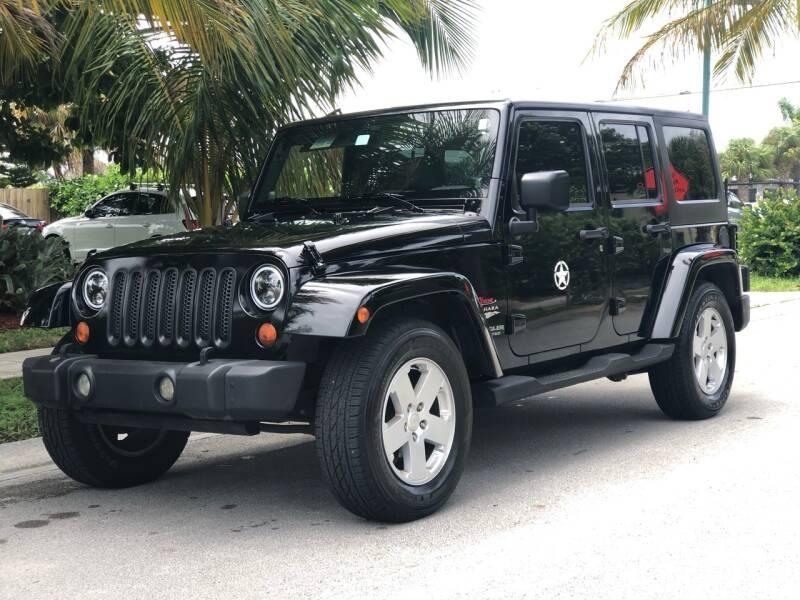 2007 Jeep Wrangler Unlimited for sale at L G AUTO SALES in Boynton Beach FL