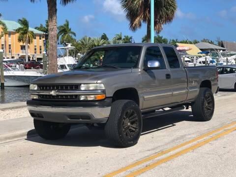 2001 Chevrolet Silverado 1500 for sale at L G AUTO SALES in Boynton Beach FL