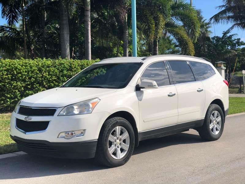 2010 Chevrolet Traverse for sale at L G AUTO SALES in Boynton Beach FL