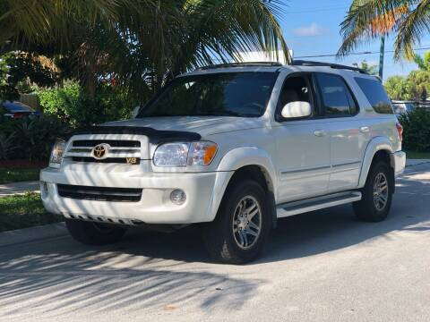 2006 Toyota Sequoia for sale at L G AUTO SALES in Boynton Beach FL