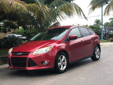 2012 Ford Focus for sale at L G AUTO SALES in Boynton Beach FL