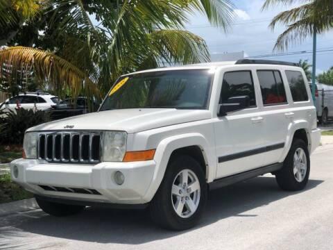 2008 Jeep Commander for sale at L G AUTO SALES in Boynton Beach FL