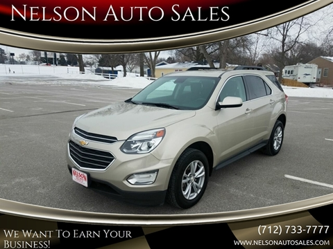 2016 Chevrolet Equinox for sale in Harlan, IA