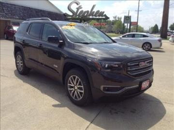 2017 GMC Acadia for sale at Stephen Motors in Monticello IA
