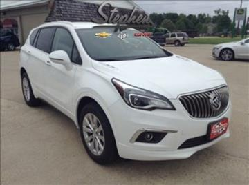2017 Buick Envision for sale at Stephen Motors in Monticello IA