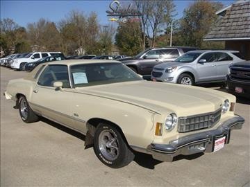 1975 Chevrolet Monte Carlo for sale at Stephen Motors in Monticello IA