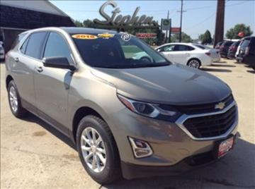 2018 Chevrolet Equinox for sale at Stephen Motors in Monticello IA