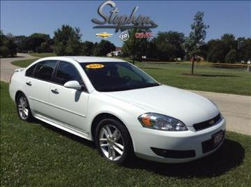 2013 Chevrolet Impala for sale at Stephen Motors in Monticello IA