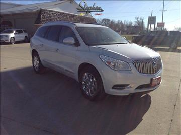 2017 Buick Enclave for sale at Stephen Motors in Monticello IA