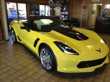 2017 Chevrolet Corvette for sale at Stephen Motors in Monticello IA