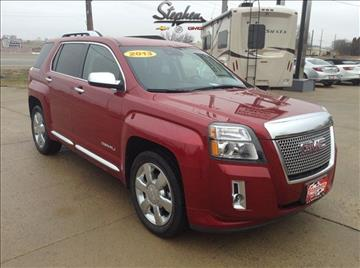 2013 GMC Terrain for sale at Stephen Motors in Monticello IA
