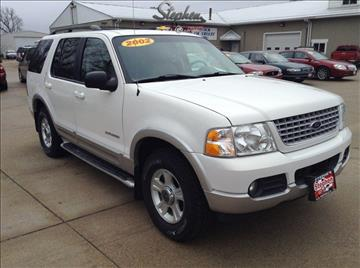 2002 Ford Explorer for sale at Stephen Motors in Monticello IA
