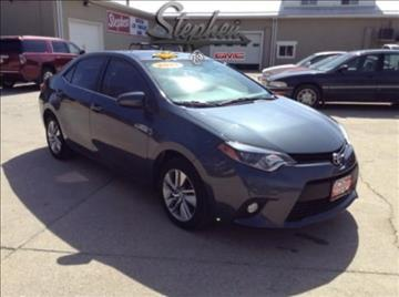 2014 Toyota Corolla for sale at Stephen Motors in Monticello IA