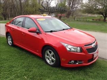 2014 Chevrolet Cruze for sale at Stephen Motors in Monticello IA