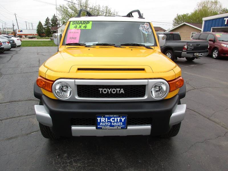2009 Toyota FJ Cruiser for sale at TRI CITY AUTO SALES LLC in Menasha WI