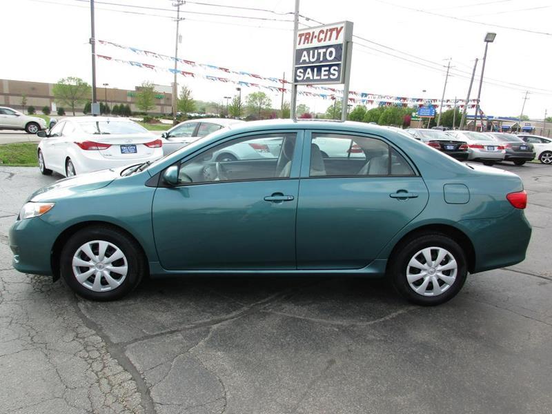 2009 Toyota Corolla for sale at TRI CITY AUTO SALES LLC in Menasha WI
