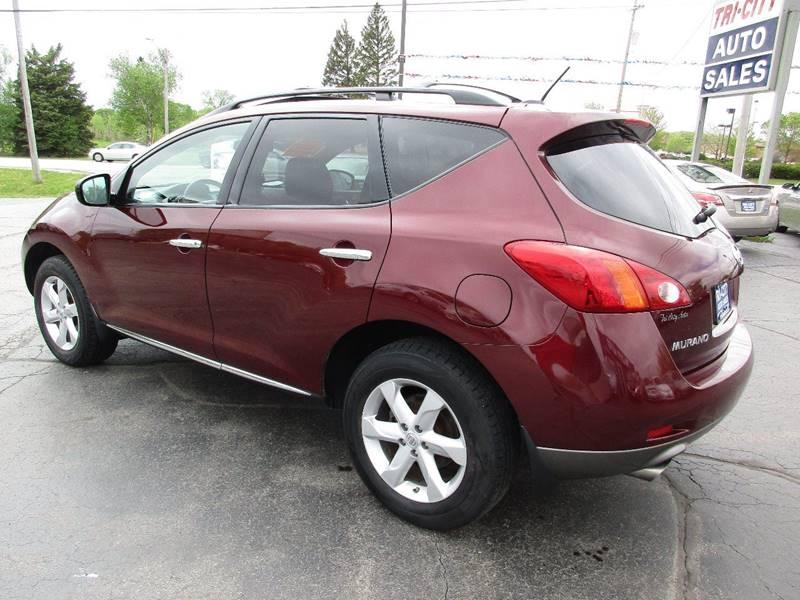 2009 Nissan Murano for sale at TRI CITY AUTO SALES LLC in Menasha WI