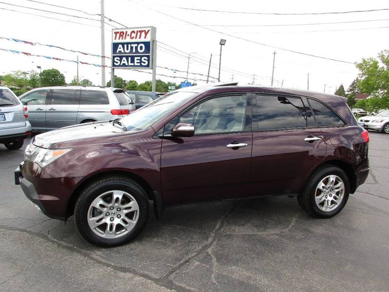 2009 Acura MDX for sale at TRI CITY AUTO SALES LLC in Menasha WI