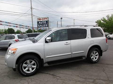 2008 Nissan Armada for sale at TRI CITY AUTO SALES LLC in Menasha WI