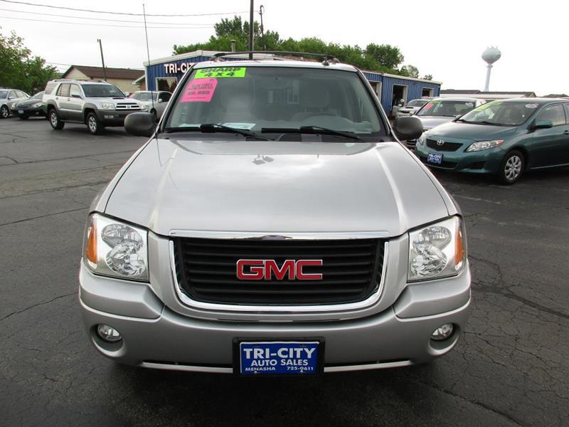 2005 GMC Envoy for sale at TRI CITY AUTO SALES LLC in Menasha WI