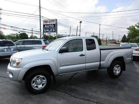 2006 Toyota Tacoma for sale at TRI CITY AUTO SALES LLC in Menasha WI