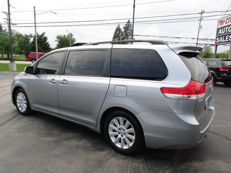 2011 Toyota Sienna for sale at TRI CITY AUTO SALES LLC in Menasha WI