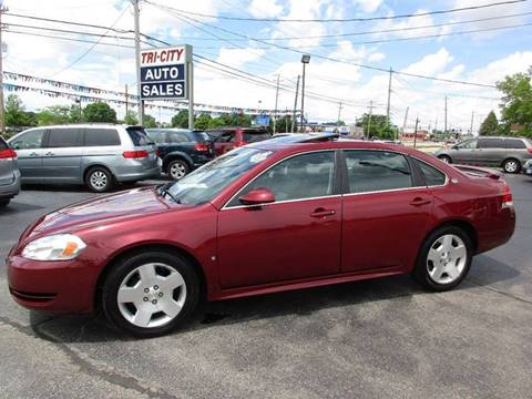2008 Chevrolet Impala for sale at TRI CITY AUTO SALES LLC in Menasha WI