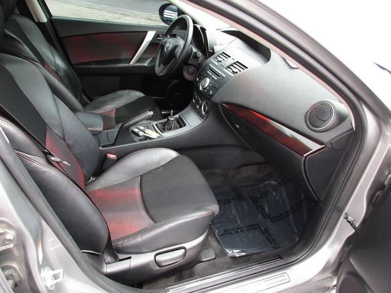2010 Mazda MAZDASPEED3 for sale at TRI CITY AUTO SALES LLC in Menasha WI