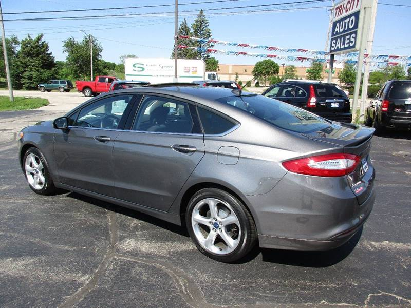 2014 Ford Fusion for sale at TRI CITY AUTO SALES LLC in Menasha WI