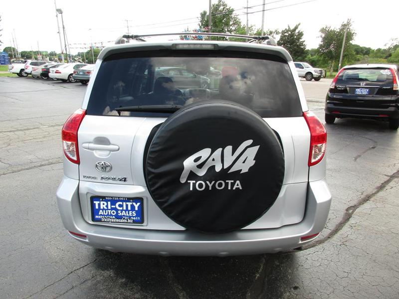 2007 Toyota RAV4 for sale at TRI CITY AUTO SALES LLC in Menasha WI