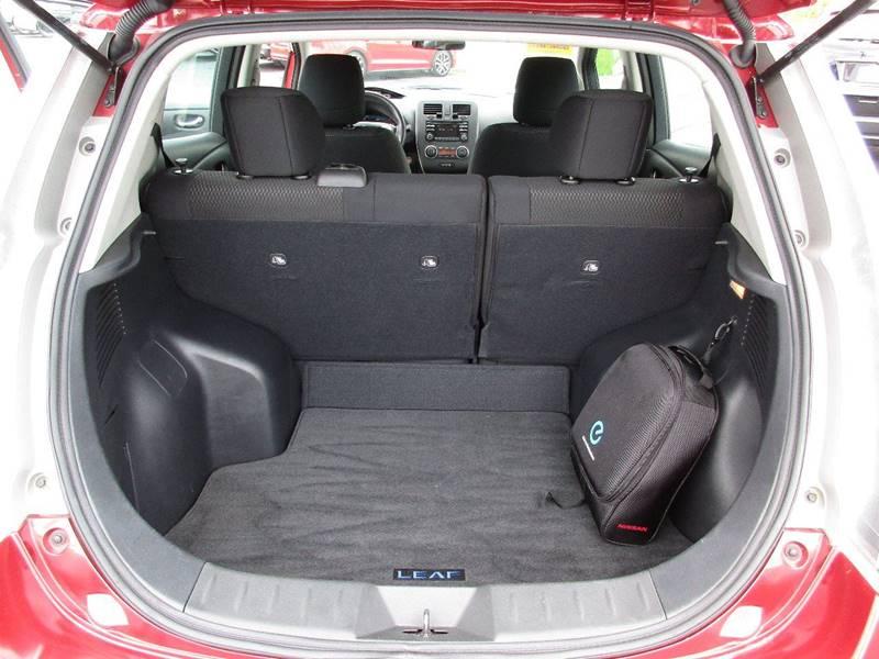 2015 Nissan LEAF for sale at TRI CITY AUTO SALES LLC in Menasha WI