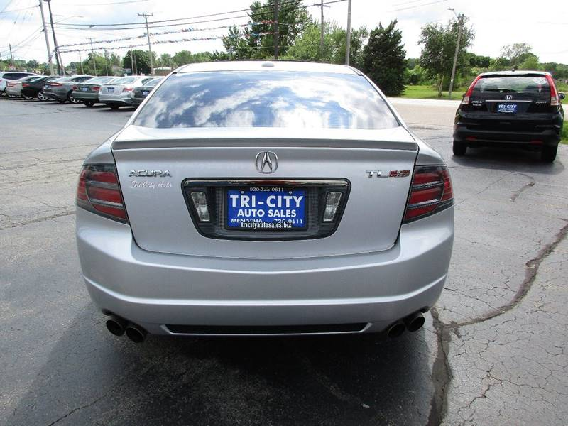 2007 Acura TL for sale at TRI CITY AUTO SALES LLC in Menasha WI