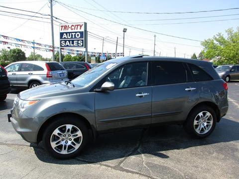 2008 Acura MDX for sale at TRI CITY AUTO SALES LLC in Menasha WI