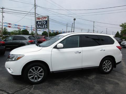 2014 Nissan Pathfinder for sale at TRI CITY AUTO SALES LLC in Menasha WI