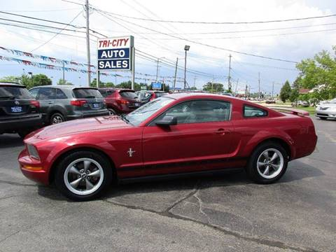 2006 Ford Mustang for sale at TRI CITY AUTO SALES LLC in Menasha WI