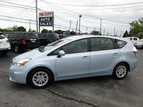 2012 Toyota Prius v for sale at TRI CITY AUTO SALES LLC in Menasha WI