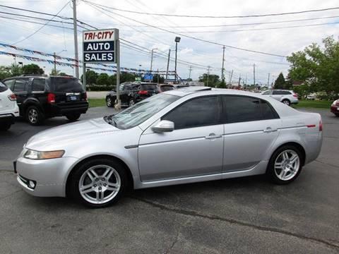 2007 Acura TL for sale at TRI CITY AUTO SALES LLC in Menasha WI