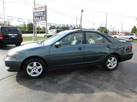 2003 Toyota Camry for sale at TRI CITY AUTO SALES LLC in Menasha WI