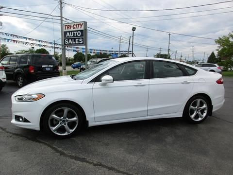 2015 Ford Fusion for sale at TRI CITY AUTO SALES LLC in Menasha WI