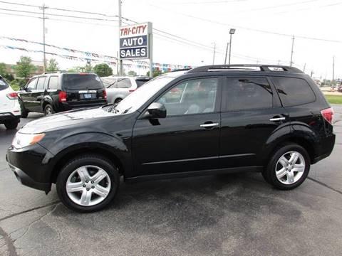 2010 Subaru Forester for sale at TRI CITY AUTO SALES LLC in Menasha WI