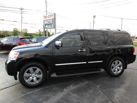 2011 Nissan Armada for sale at TRI CITY AUTO SALES LLC in Menasha WI