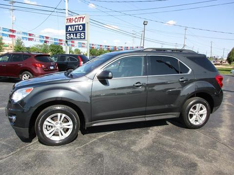2013 Chevrolet Equinox for sale at TRI CITY AUTO SALES LLC in Menasha WI