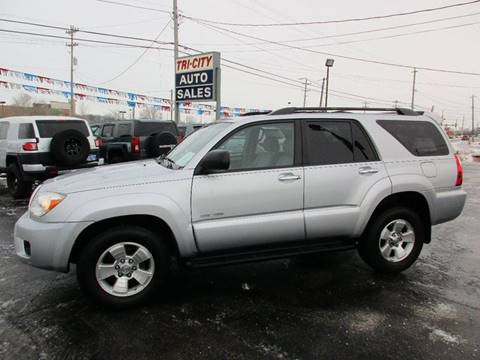 2007 Toyota 4Runner for sale at TRI CITY AUTO SALES LLC in Menasha WI